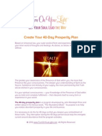 40 Day Prosperity Plan