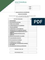 Formato de Evaluación de Desempeño Ver  1.doc
