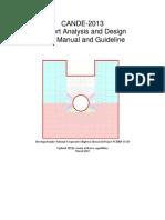 CANDE-2013 User Manual
