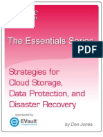 Strategies for Cloud Storage, Data Protection, And Disaster Recovery
