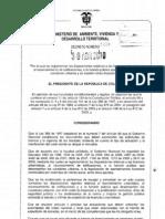 Decreto 1469 Del 2010