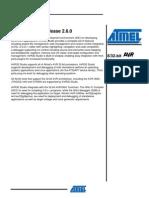AVR32Studio Release Notea 2.6.0
