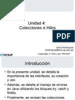 UNIDAD 4 - Colecciones e hilos.pdf