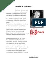 ARENGA AL PERUANO - Mario Florián