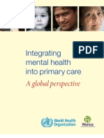 Mental Health  Primary Care