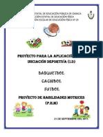 Proyecto de p.h.m e Id 2011-2012 - 2