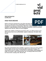 Vivid Projects Press Release