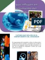 Presentación sobre los factores y el comportamiento del consumidor.pptx