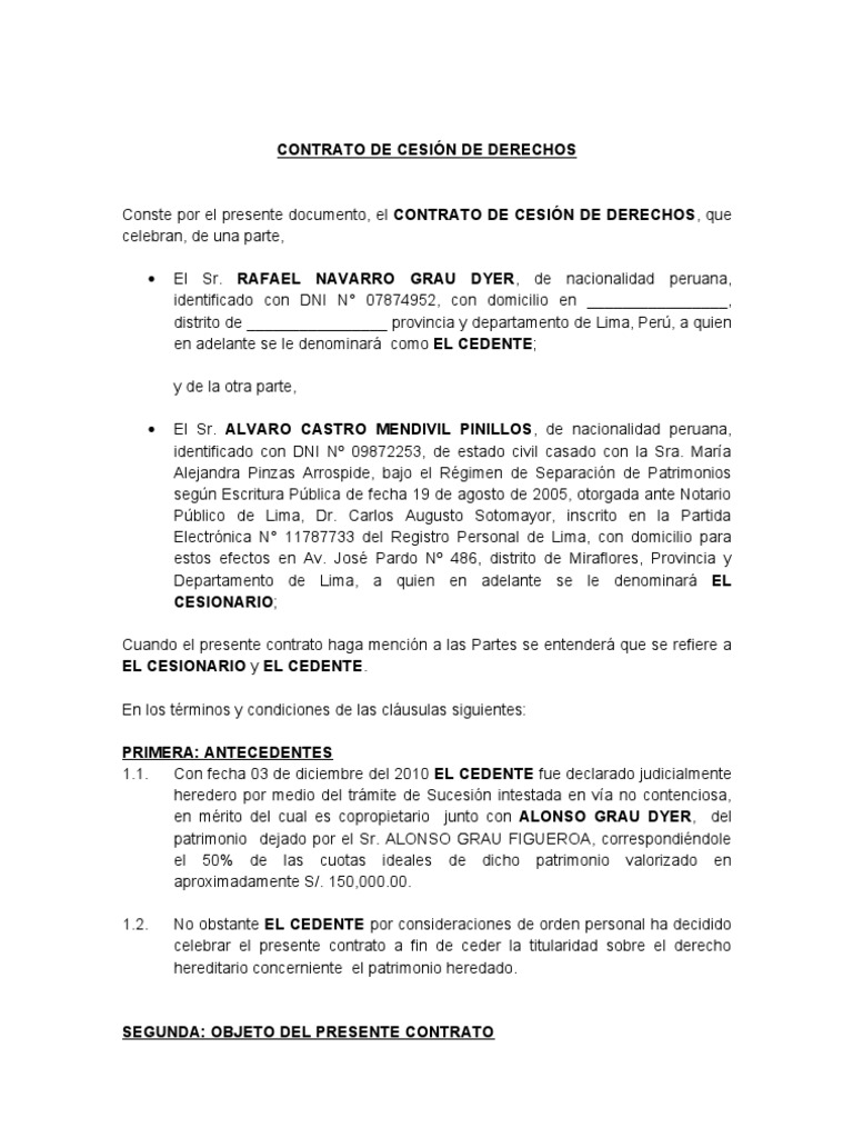 Excepcional Plantilla De Escritura De Transmisión Molde - Colección ...