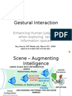 Gestural Interaction
