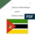 Political Analysis of Mozambique