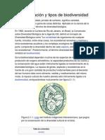 Caracterización y tipos de biodiversidad