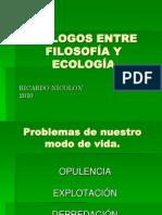 Nicolon 2010 DIÁLOGOS ENTRE FILOSOFÍA Y ECOLOGÍA