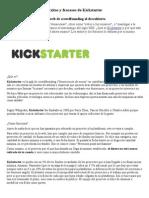 Éxitos y fracasos de Kickstarter