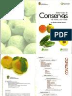 Elaboración de Conservas de Frutas y Hortalizas