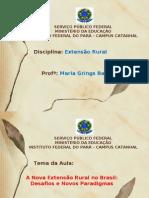 A nova extensão rural no Brasil