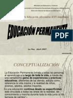 NUEVO ENFOQ DE EDUCACIÓNPERMANENTE