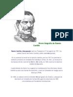 Breve biografía de Ramón Castilla