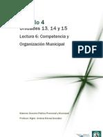 Lectura 6 - Competencia municipal, participación ciudadana y régimen financiero