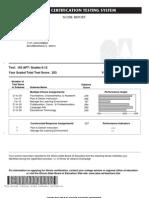 icts Apt-hist Test Scores