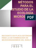 métodos para el estudio de la ecología microbiana
