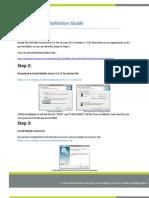 Uniplay CG 2.0 Installation Guide