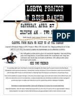 LGBTQ Project Day at Rush Ranch