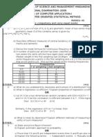Statistic Paper -2