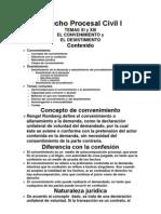 Derecho Procesal Civil I Convenimiento