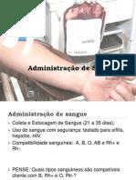 Administração de Sangue