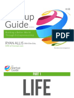 The Startup Guide (Redesigned)