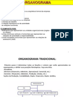 Organograma, Fluxograma e Cronograma
