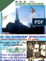 2 SEGUNDO  JESÚS FUNDO SU IGLESIA