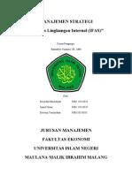 Analisis Lingkungan Internal-Ifas