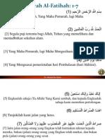 1 Surat Al Fathihah