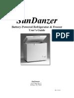 SunDanzer User Manual