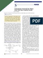Copper-Catalyzed Enantioselective Intramolecular Alkene Amination:Intermolecular Heck-Type Coupling Cascade