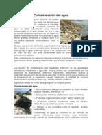 Contaminación del agua.doc