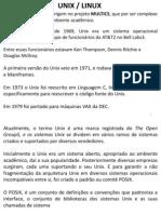 Configurações sistema Linux