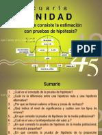4ta. Unidad_Estimación con pruebas de hipótesis