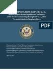 Libya Progress Report