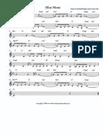 Free Sheet Music 3