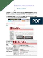 Servidor FTP Filezilla