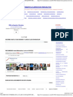 Volumen de Un Prisma en La Clase # 28 de Quinto de Primaria ~ Matematica Ejercicios Resueltos