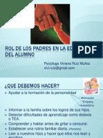 _rol de Los Padres Escuela Para Padres