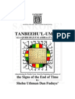 Tanbeeh l Umma by Shehu Uthman Dan Fuduye