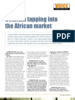 027_Comium Tapping Into the African Market (December 2008)