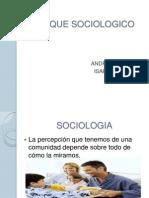 ENFOQUE SOCIOLOGICO