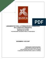 15.Lineamientos Formacion de Formadores Practica Orquestal