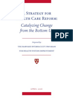 A Strategy for Health Care Reform